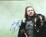 Sean Bean, Game of Thrones,  10x 8 picture. This is an original autograph and not a copy. 10325